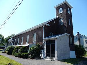 Delano, Pennsylvania - Delano Union Church.
