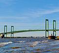 Delaware Memorial Bridge shooting from the Pennsville, NJ side3.jpg