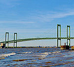 Delaware Memorial Bridge shooting from the Pennsville, NJ side3.jpg