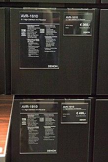 Denon AV equipment at HighEnd-2009 (3556329043).jpg