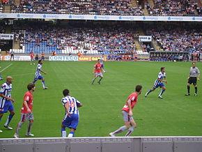 Una partita dell'Osasuna.