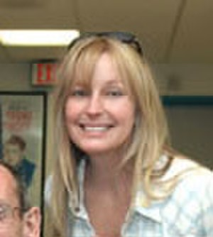 Bo Derek - Visiting a VA hospital in Los Angeles, 2005