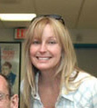 Bo Derek - Visiting a VA hospital in Los Angeles, 2005