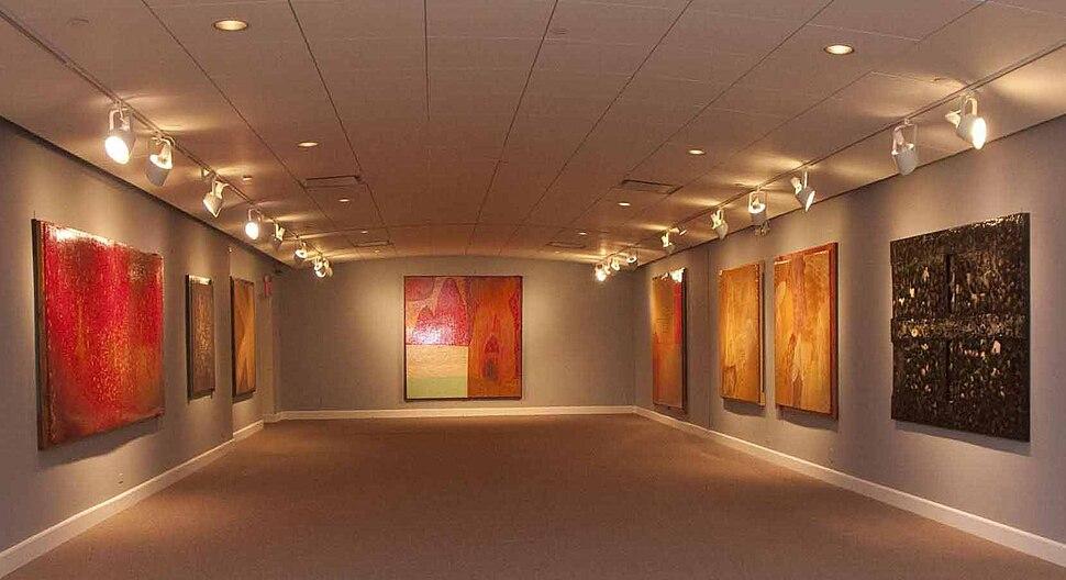 Detalle de la exposición Lamazares NY