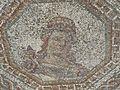 Detalle de mosaico en la villa romana de Bruñel.JPG
