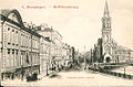 Deutsche Reformed Churche and B.Morskaya Street, Old Postcard 1900s.jpg