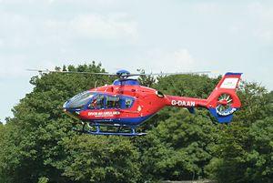 Devon Air Ambulance - Image: Devon Air Ambulance Eurocopter EC135P2+