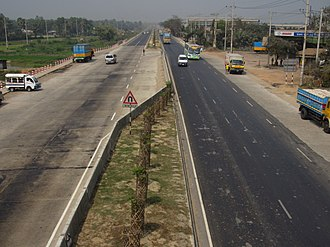 N1 (Bangladesh) - Dhaka-Chittagong Highway after expansion