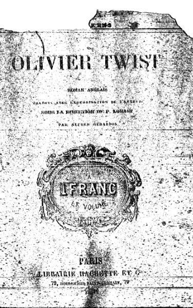File:Dickens - Olivier Twist.djvu