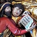 Die Marienkirche in Bad Mergentheim wurde aufwändig restauriert. Detail aus dem stark übermalten Maria-Tod-Altar.jpg