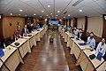 Dignitaries and Participants with Heureka Eyewear - Valedictory Session - Indo-Finnish-Thai Exhibit Development Workshop - NCSM - Kolkata 2014-12-05 0955.JPG