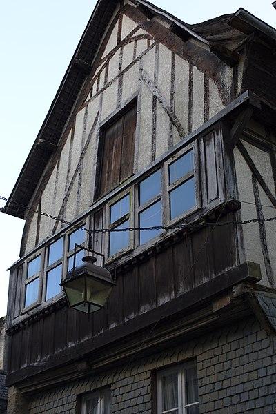 File:Dinan - 6 rue du Jerzual 20130216-01.jpg Исторические памятники Динана, достопримечательности Динана, фотографии Динана