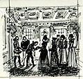 Disegno per copertina di libretto, disegno di Guido Crepax per Maria Stuarda (s.d.) - Archivio Storico Ricordi ICON012300.jpg