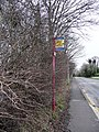 Disused bus stop on Pontefract Road - geograph.org.uk - 1692444.jpg