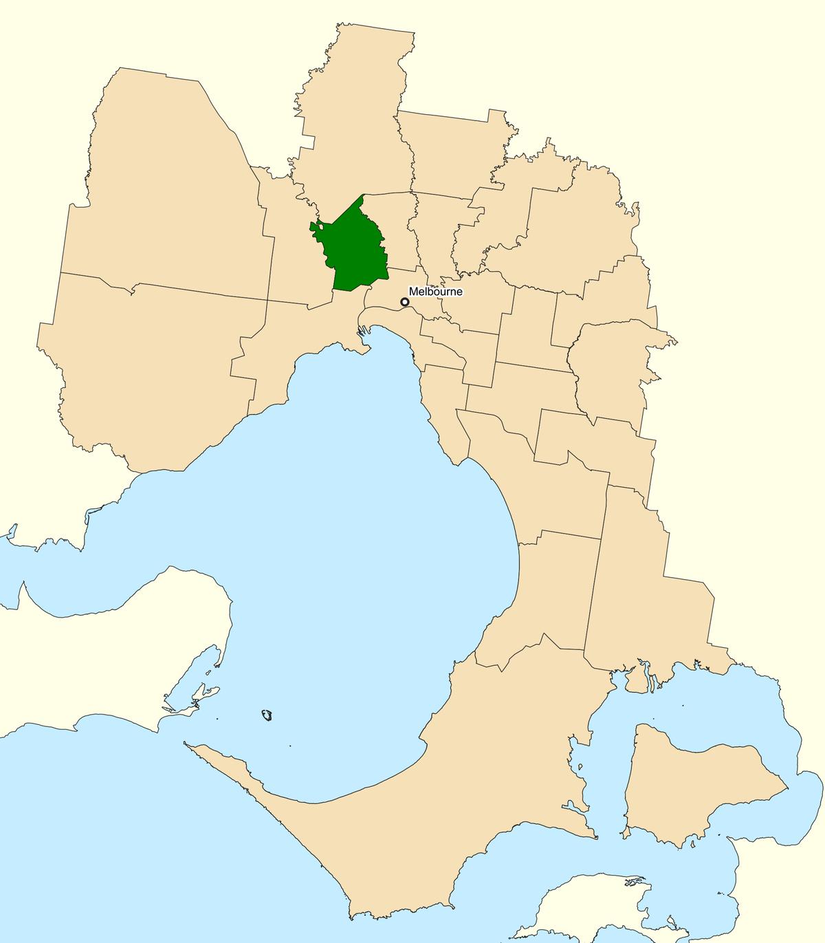 Maribyrnong Victoria: Division Of Maribyrnong
