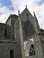 Dol-de-Bretagne (35) Cathédrale Grand porche et transept sud.JPG