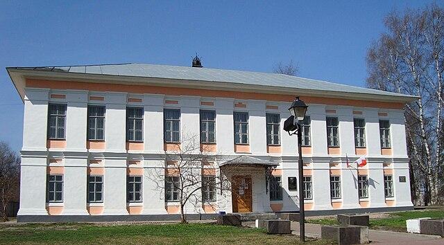 Дом, в котором родился и жил до 1924 года писатель В. Т. Шаламов.