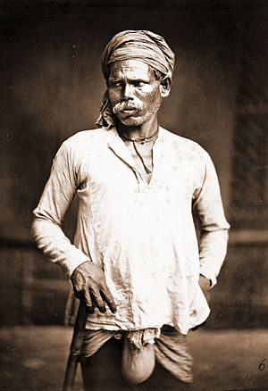 Domba - Dom man-1860 – Eastern Bengal