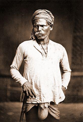 Domba - Dom man-1860 – Eastern Bengal