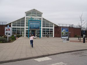 Doncaster North services - The main building