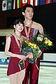 Dong Huibo & Wu Yiming Podium 2008 Junior Worlds.jpg