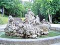Donndorf - Schlosspark Fantaisie - Neptunbrunnen 03 - Hinteransicht (10.06.2009).jpg