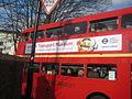 Double Decker Bus Returning to Museum Depot - London Transport Museum Open Weekend March 2012 (6971238889).jpg