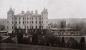 Douglas Castle - Douglas Castle (demolished in 1938)