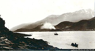 Douglas Island - Photo of Douglas Island by Frank La Roche ca. 1897