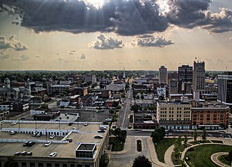 Jackson, Michigan - Image: Downtown Jackson, MI