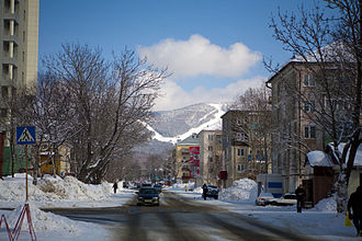 Sakhalin - Central part of Yuzhno-Sakhalinsk. 2009