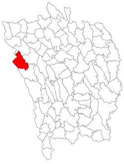 Location of Dragomirești