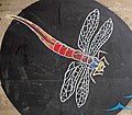 Dragonfly mural - geograph.org.uk - 732689.jpg