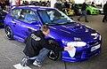 Drive In 2011 blaues Auto vor Bewertung.JPG
