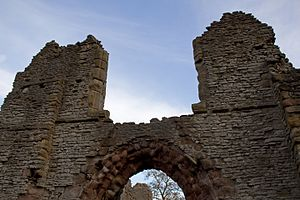 Gervase Paganell - The ruins of Dudley Priory, founded by Gervase Paganell following the wishes of his father, Ralph