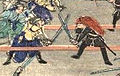 Duel between a Shogitai and Shaguma in the Battle of Ueno.jpg