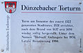 Duenzebacher Torturm Infotafel.jpg