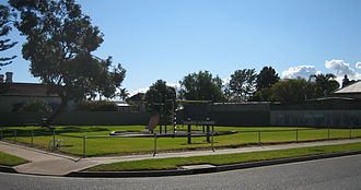 "Rosewater, South Australia - A small recreational area in Rosewater called ""Duffield Playground"""