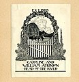 Dugald Stewart Walker Bookplate-Caroline and William Atkinson.jpg
