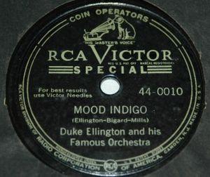 """Mood Indigo - """"Mood Indigo"""" record by Duke Ellington orchestra"""