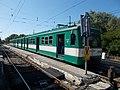 Dunaharaszti külső HÉV station, BHÉV MX (892), 2019 Dunaharaszti.jpg