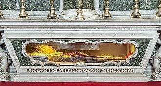 Gregorio Barbarigo - Tomb in Padua.
