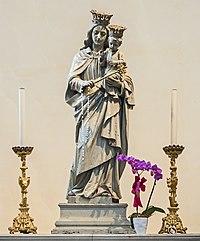 Duomo (Treviso) - interior - Capella della Madonna - Maria Ausiliatrice.jpg
