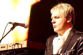 Nick Rhodes British keyboardist