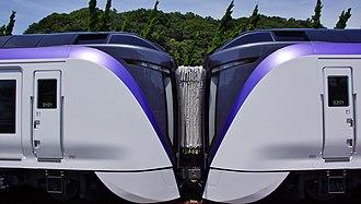 E353 series - Image: E353 S101 S201 Jimmuji 20150725