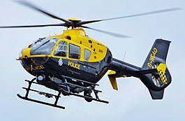 EC-135 T2 van de National Police Air Service of England & Wales