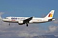 EC-FDB 2 A320-211 Iberia OneWorld PMI 25SEP10 (5837650840).jpg