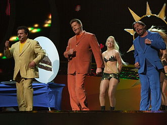 Estonia in the Eurovision Song Contest - Image: ESC 2008 Estonia Kreisiraadio, 1st semifinal