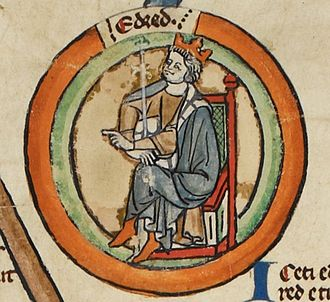 Eadred - Eadred in the early fourteenth century Genealogical Roll of the Kings of England