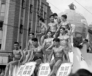 Bodybuilding in China